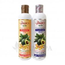 Набор по уходу за волосами Jinda  с авокадо и витамином В5