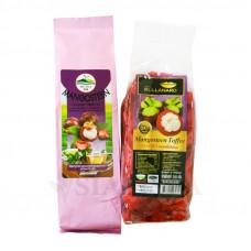 Зеленый чай с мангостином и жевательные конфеты со вкусом мангостина