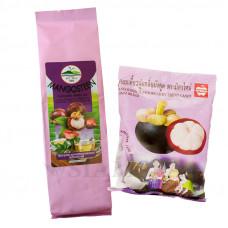 Зеленый чай с мангостином и тайские жевательные конфеты с соком мангостина MitMai Candy