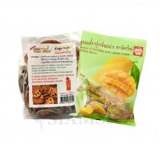 Чай Матум и жевательные конфеты с соком манго