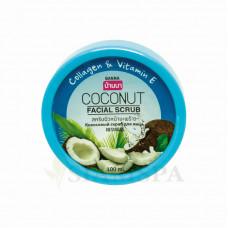 Нежный cкраб для лица BANNA с кокосом, 100 мл