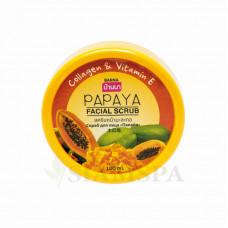Нежный cкраб для лица BANNA с папайей, 100 мл