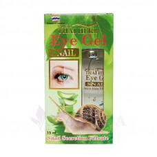 Гель для кожи вокруг глаз с экстрактом улитки, эластином и коллагеном, 15 мл