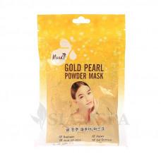 Золотая маска-пудра для лица