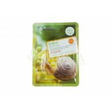 Тканевая восстанавливающая маска для лица с улиточным ферментом, 30 ml