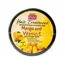 Питательная маска для волос Banna с манго и витамином Е, 300 мл