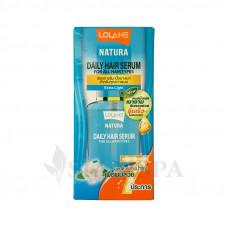Восстанавливающая сыворотка для волос Lolane Natura с экстрактом цветов гардении