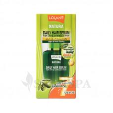 Восстанавливающая сыворотка для волос Lolane Natura