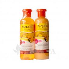 Шампунь + бальзам для волос с экстрактом манго