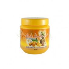 Восстанавливающая маска для волос с манго и ананасом