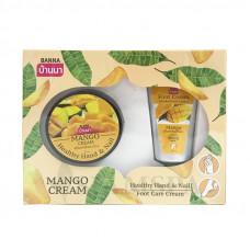 Набор для ухода за кожей рук и ног с экстрактом манго