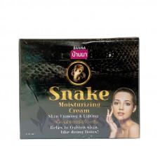 Омолаживающий крем для лица со змеиным ядом
