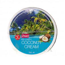 Питательный крем для тела с кокосовым маслом Banna, 250 мл